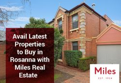 Avail Latest Properties to Buy in Rosanna with Miles Real Estate