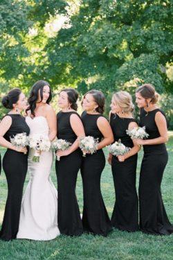 Schwarze Brautjungfernkleider | Brautjungfernkleid Günstig Online Kaufen