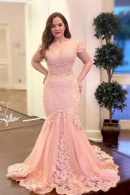 Abendkleider Lang Rosa   Abiballkleider mit Spitze