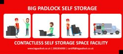 Contactless Self Storage Space Facility By Big Padlock