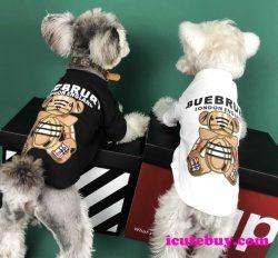 Burberry ドッグウェア 犬シャツ バーバリー 小型犬 中型犬 大型犬 犬服 BURBERRY ワンちゃん服 ベア  ...