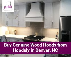 Buy Genuine Wood Hoods from Hoodsly in Denver, NC