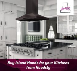 Buy Island Hoods for your Kitchens from Hoodsly
