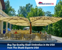 Buy Top Quality Giant Umbrellas in the USA from The Shade Experts USA