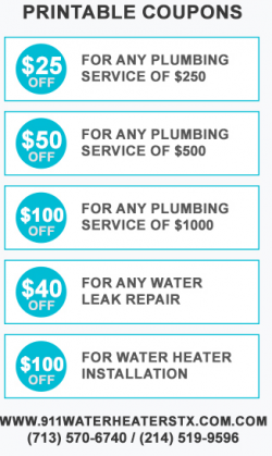 911 Water Heaters Dallas TX