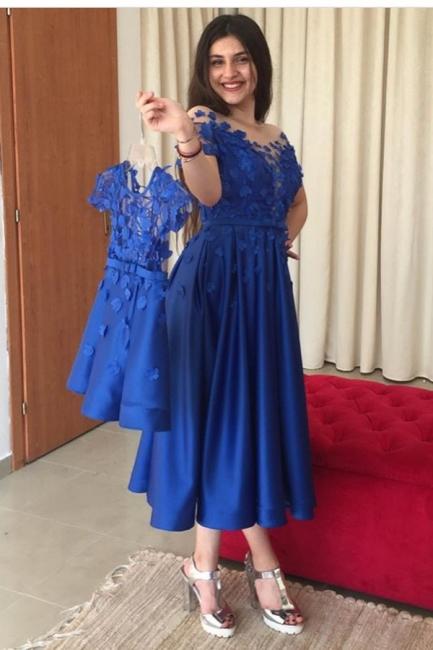 Blaue Abendkleider Cocktailkleider Kurz | Kinder Mutter Kleider Online