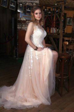 Moderne Brautkleider V Ausschnitt | Boho Hochzeitskleider mit Spitze