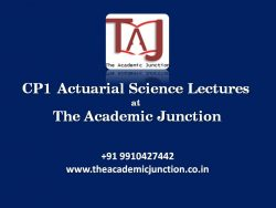 Actuarial Science CP1 Ch 37| By Silky Lamba|All India Topper| Experienced Faculty