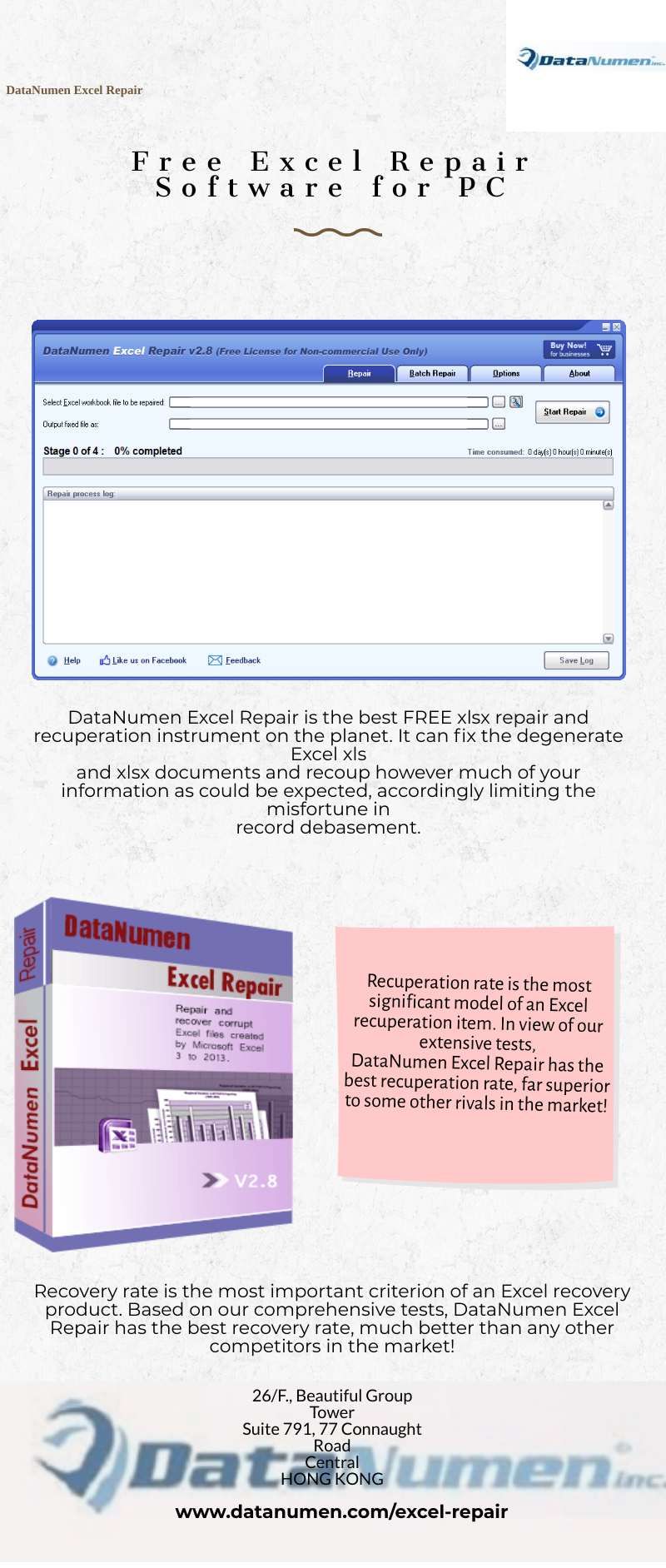 Free Excel Repair Software for PC