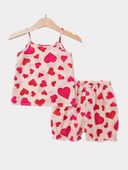 Sweet Silk Pajamas For Kids