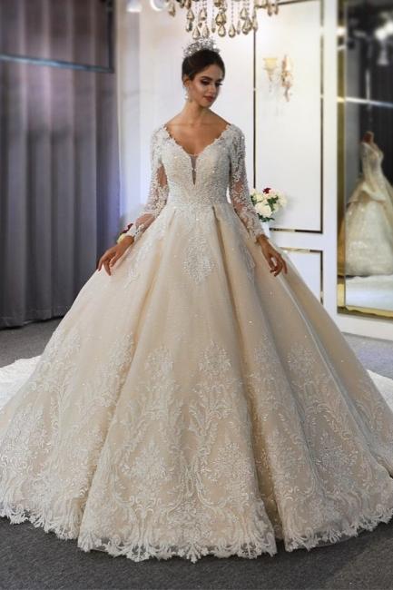 Hochzeitskleid Langarm Umstandsmode | Brautkleider Online Kaufen