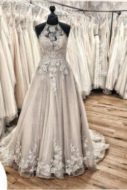 Designer Brautkleid A linie | Wunderschöne Hochzeitskleider Mit Spitze
