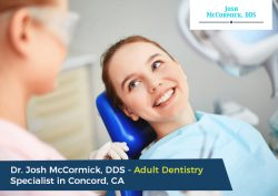 Dr. Josh McCormick, DDS – Adult Dentistry Specialist in Concord, CA