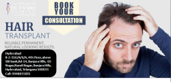 Hair Transplant in Hyderabad | Hair Transplant Cost | Dr.Yv Rao Clinics