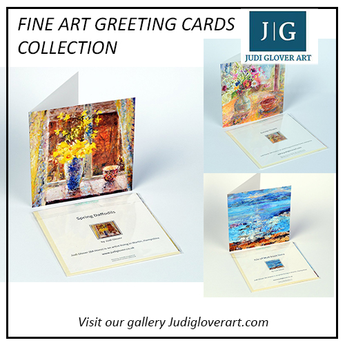Fine Art Greeting Cards Collection at Judigloverart.com