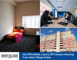 Get Affordable, Luxury Off-Campus Housing from West Village Suites