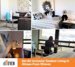Get All-Inclusive Student Living in Ottawa From 1Eleven