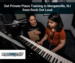 Get Private Piano Training in Morganville, NJ from Rock Out Loud