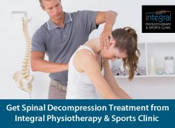 Get Spinal Decompression Treatment from Integral Physiotherapy & Sports Clinic