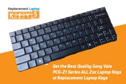Get the Best Quality Sony Vaio PCG-Z1 Series ALL Zxx Laptop Keys at Replacement Laptop Keys