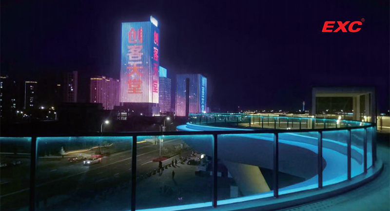 Commercial LED Outdoor Lighting for HP Plaza