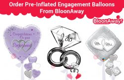 Order Pre-Inflated Engagement Balloons From BloonAway