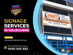 Signage Companies in Melbourne – Print Quick