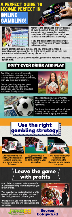 Place bets and earn money With Online Casino gambling