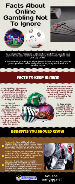 Judi QQ Online-Facts to keep in mind