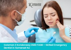 Coloman E Kondorossy DMD FAGD – Skilled Emergency Dentist in Somerset NJ