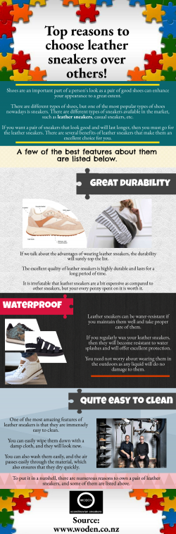 Benefits of buying leather sneakers