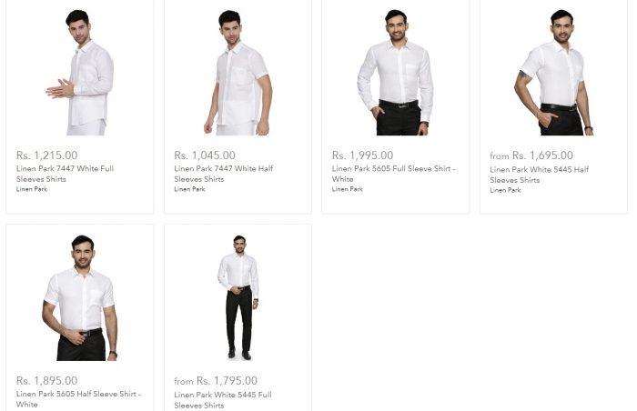 Ramraj Cotton Linen Shirts | Ramraj Cotton Shirts