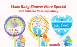 Make Baby Shower More Special with Balloons from BloonAway
