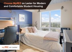 Choose MyREZ on Lester to Get Modern and Comfortable Student Housing
