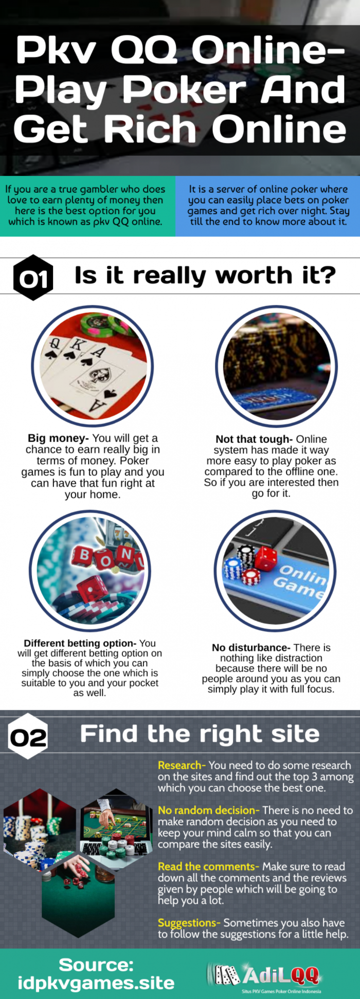 A step-by-step guide to start online casino gambling!