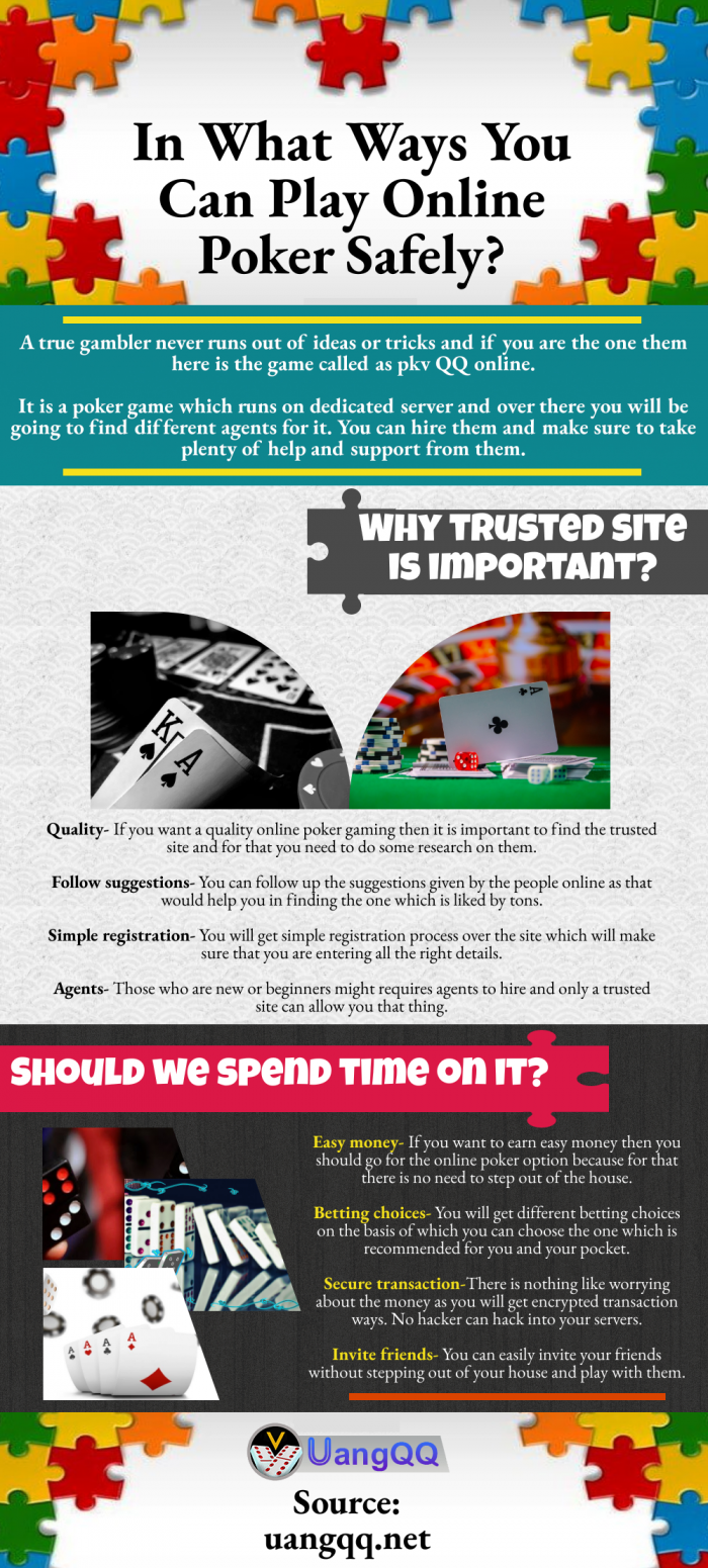 How to Play Online Poker Safely