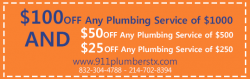 911 Plumbers Dallas TX