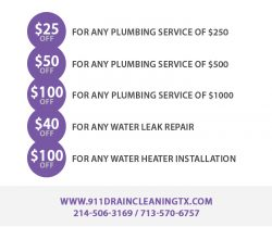 911 Drain Cleaning Dallas TX