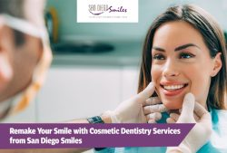 Remake Your Smile with Cosmetic Dentistry Services from San Diego Smiles