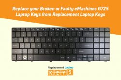Replace your Broken or Faulty eMachines G725 Laptop Keys from Replacement Laptop Keys