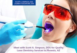 Meet with Scott A. Simpson, DDS for Quality Laser Dentistry Services in Phoenix, AZ