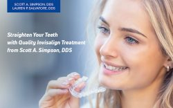 Straighten Your Teeth with Quality Invisalign Treatment from Scott A. Simpson, DDS