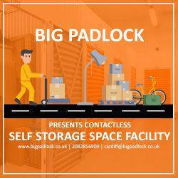 Big Padlock Presents Contactless Self Storage Space Facility