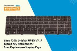 Shop 100% Original HP ENVY 17 Laptop Key Replacement from Replacement Laptop Keys