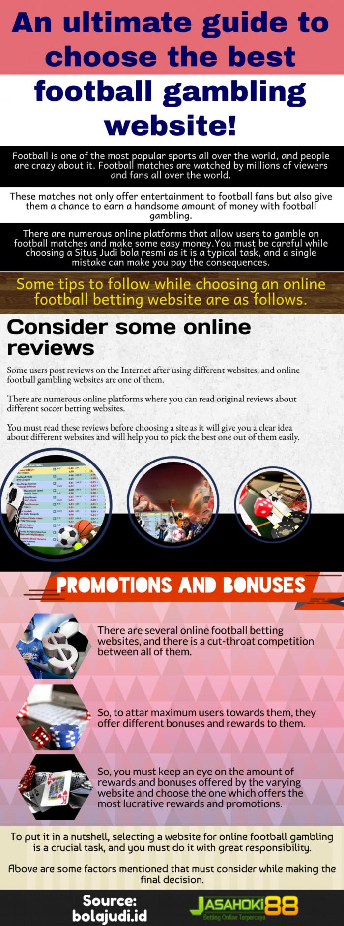 Trusted website for Internet soccer gambling