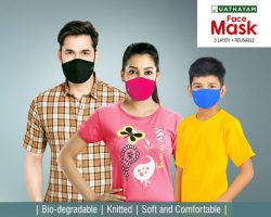 Face Mask – Colour – Pack of 3