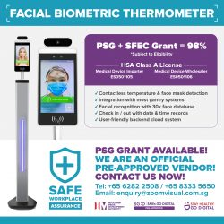 Facial Biometric Thermometer