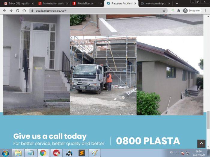 Plaster repairs auckland