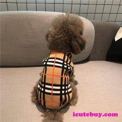 ドッグウェア バーバリー Burberry風 セーター ニット 犬服 ペット服 ワンちゃん服 小型犬 中型犬 大型 ...