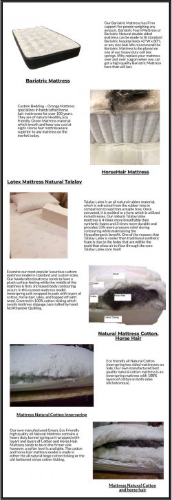 Best Natural Mattress Store in NJ